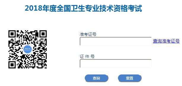 中国卫生人才网2018年安徽初级护师考试成绩查询入口开通