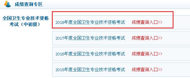 中国卫生人才网2018黑龙江初级药师成绩查询入口已开通