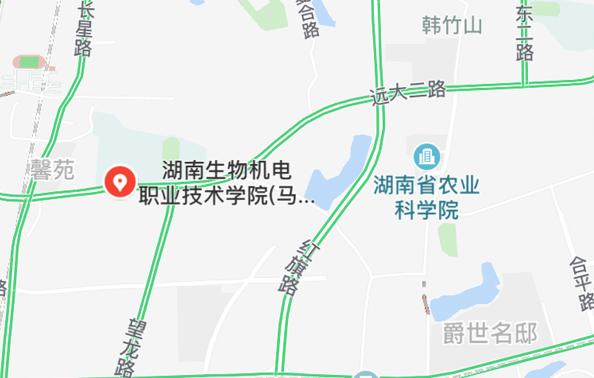 长沙考区2018年执业药师考试考点地图