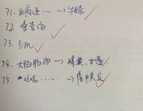 网友回忆2019中医主治医师基础知识真题