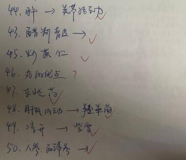 2019中医主治医师基础知识真题