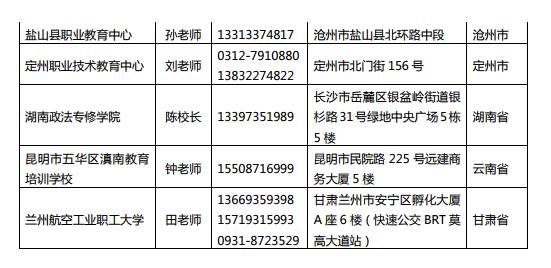 2019河北地成考招生簡章