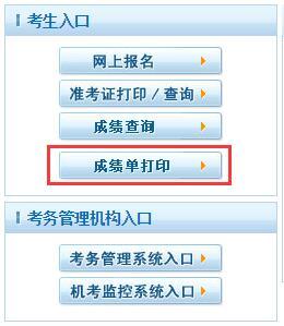 2019年中国卫生人才网成绩单下载打印入口