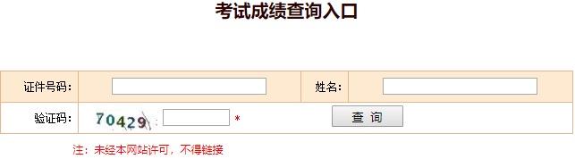 2019年执业药师成绩查询入口