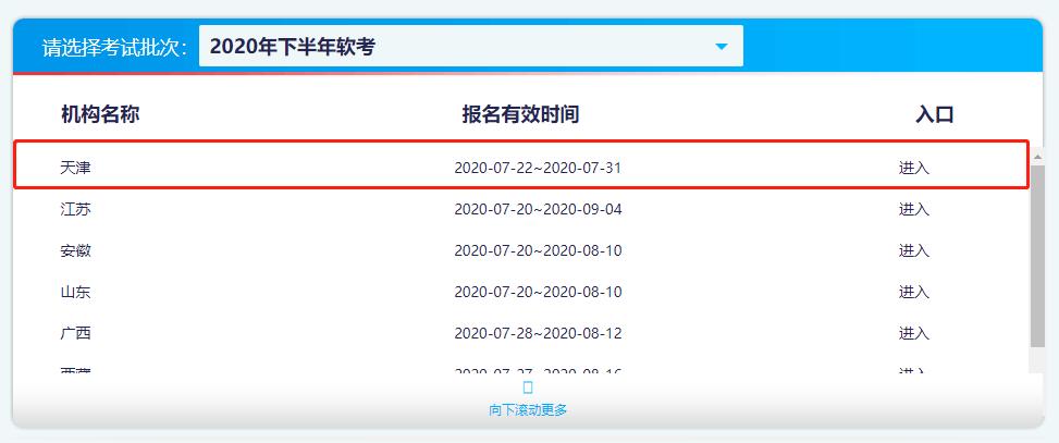 2020年天津軟考高級職稱網上報名時間7月22日—7月31日