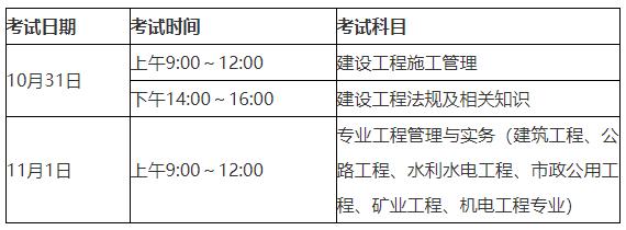 【官方通知】2020年福建二级建造师考试报名通知已发布!