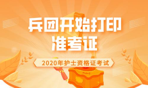 中国卫生人才网2020年兵团护士资格证准考证打印入口已开通!