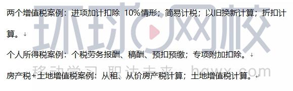 2020年初级经济师《财政税收》考试真题涉及考点(21日上午回忆版)