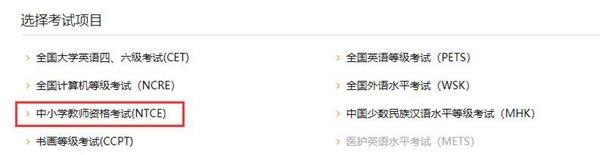 中小学教师资格证笔试成绩查询网站-中国教育考试网