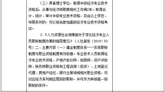 中级经济师考试报名告知承诺制证明材料及设置依据