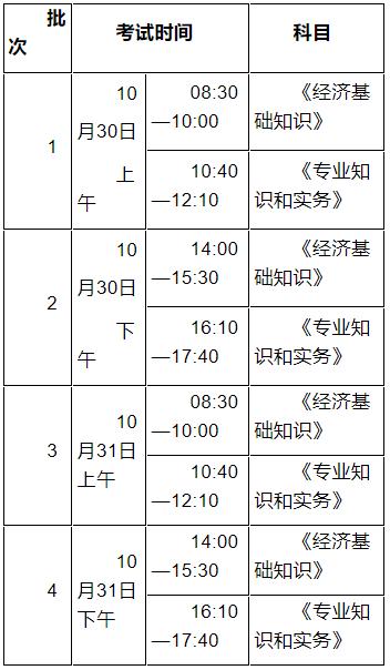 江苏人社厅:2021年中级经济师考试报名通知