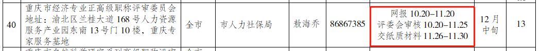 关于印发2021年重庆高级经济师职称评审申报工作方案的通知3