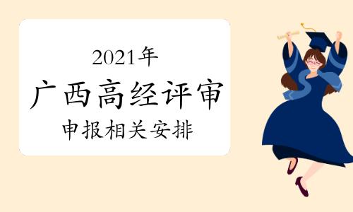 2021年广西高级经济师、高级知识产权师职称评审工作通知