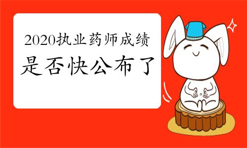 中國人事考試網又公布兩個考試的成績,2020年執業藥師成績是否也快公布了?