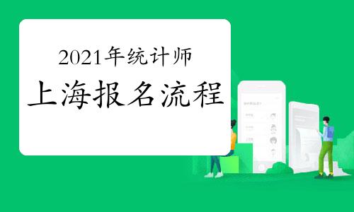 2021年上海统计师报名流程预计
