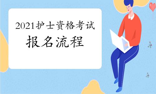中国卫生人才网:2021年护士资格考试报名流程