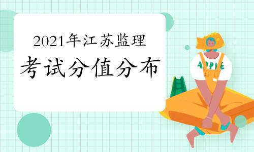 2021年江苏监理工程师考试题型分值安排