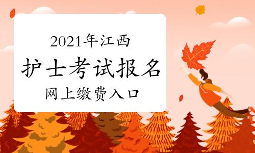 中国卫生人才网2021年江西护士考试报名网上缴费入口2月27日开通!