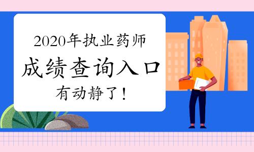 中國人事考試網2020年執業藥師成績查詢入口12月11日有動靜了!